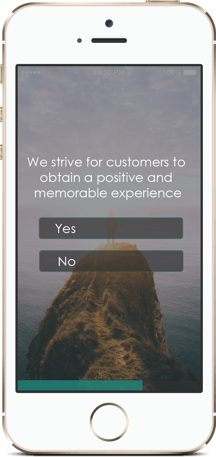 Mobile - Customer experience
